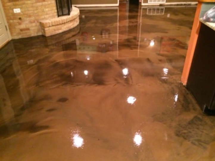 Atlanta Polished Concrete Floor Epoxy Flooring Stained Stamped - How expensive is epoxy flooring